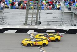 Corvette - Daytona Finish 2016